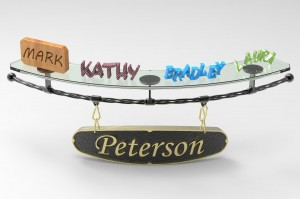 The Petersons Name Display