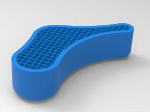 3D Printing Infill - Thick Wall, Low Density Mesh